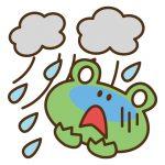 台風時におこる頭痛や吐き気の原因は?解消法は?予防法は?